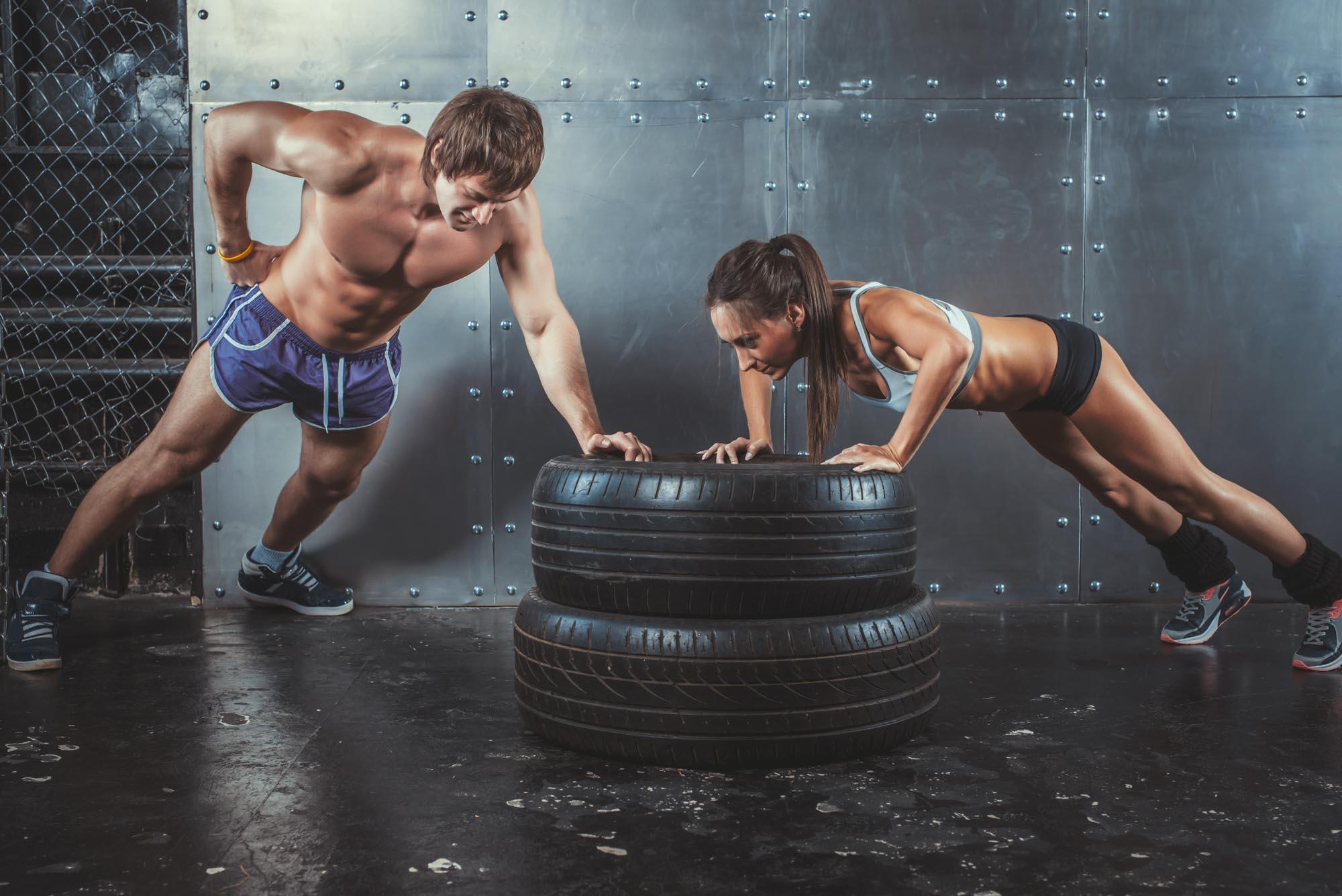 Упражнения кроссфит для похудения