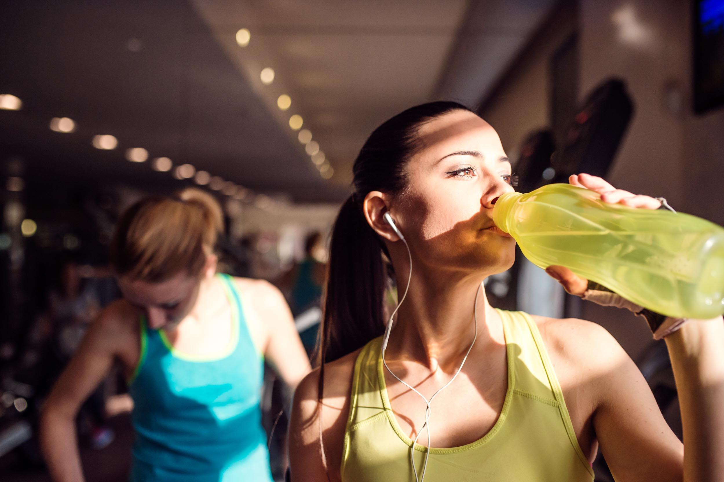 Можно ли есть перед тренировкой, пить