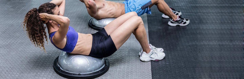 Босу - полусфера для фитнеса как выбрать  10 лучших упражнений для bosu