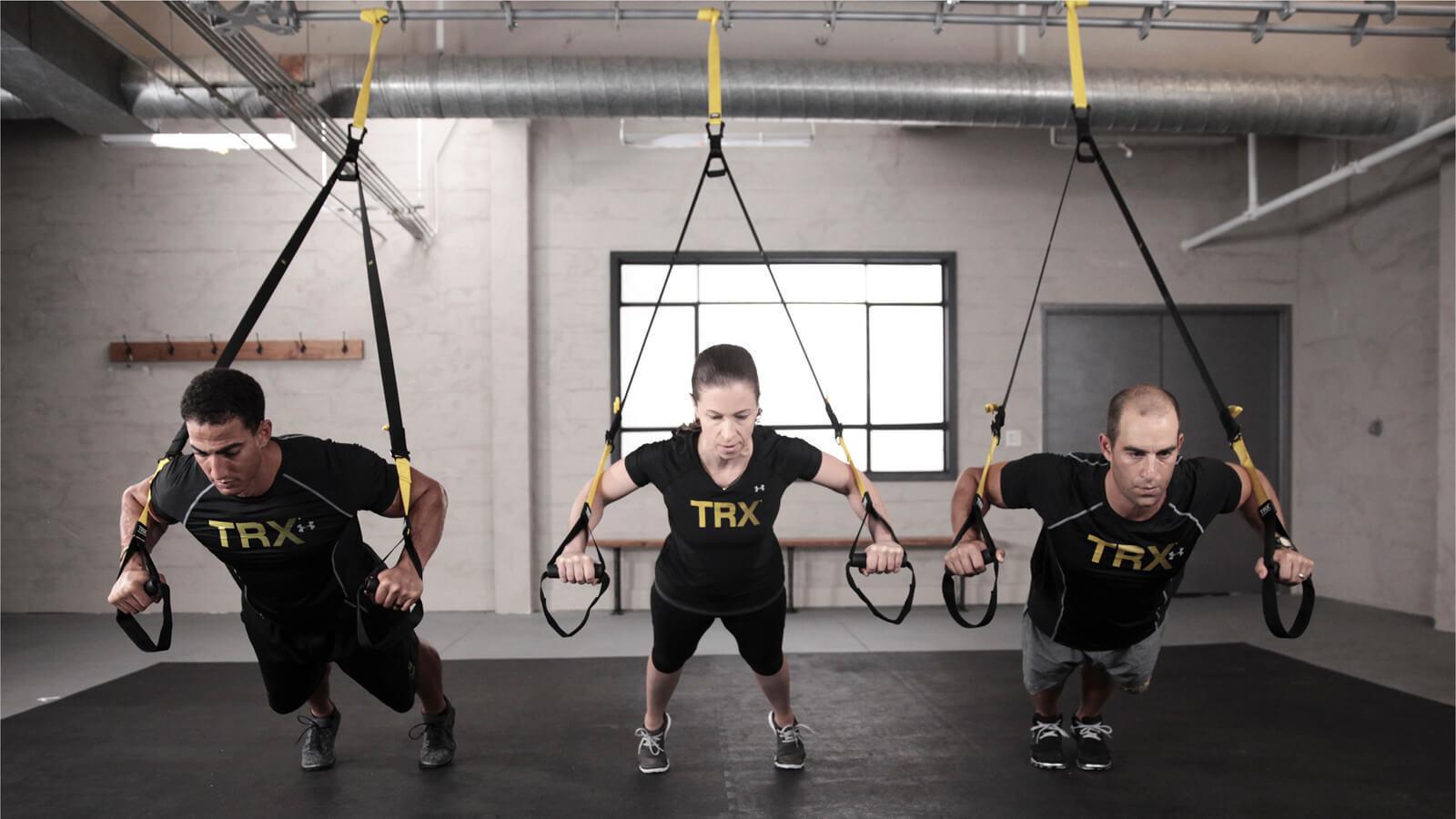 Всё о петлях TRX и как на них тренироваться