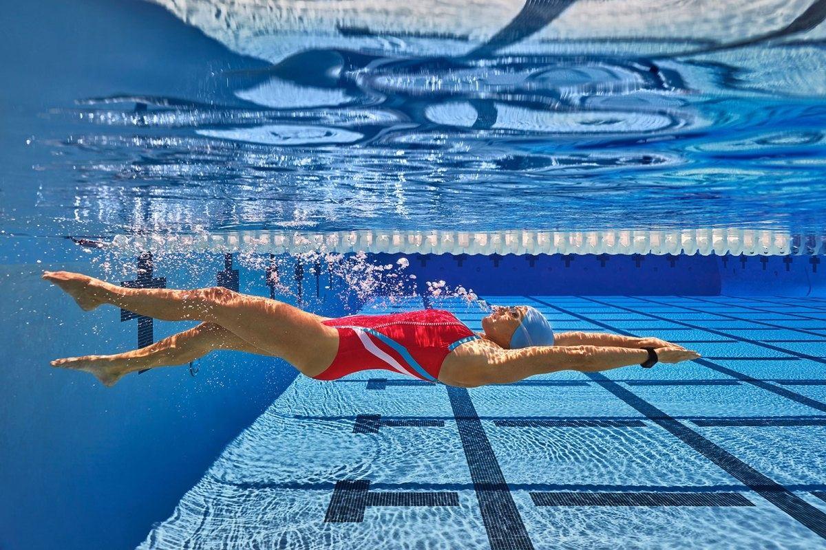 Вид плавания похудения